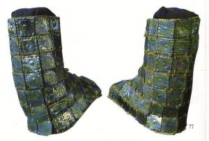 metal boots